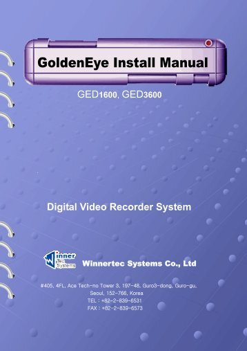 GoldenEye Install Manual