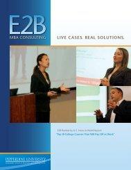 Download Brochure - Graziadio School of Business and Management