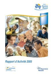 Temps forts 2005 - Actualités CARSAT Centre Ouest