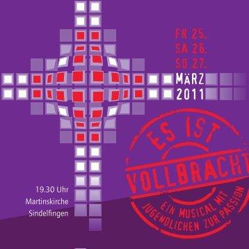 Flyer - Evangelische Martinskirche Sindelfingen