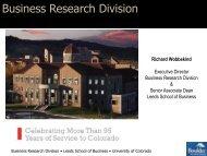 Download presentation - Boulder Economic Council