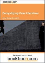 Demystifying Case Interviews Language English Format - Tutorsindia