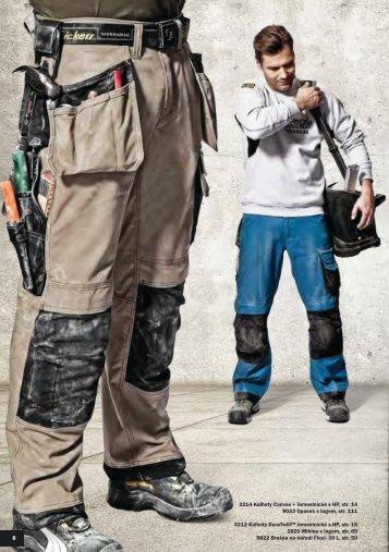 Pracovní kalhoty - TOP CENTRUM