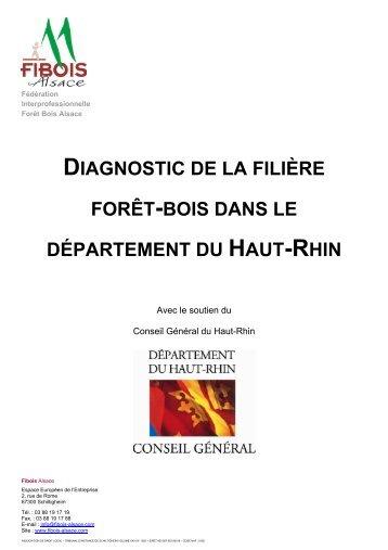 diagnostic de la filière forêt-bois dans le ... - FIBOIS Alsace