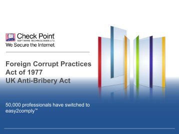 Foreign Corrupt Practices Act of 1977 UK Anti-Bribery Act
