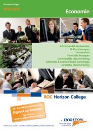 Economie - Horizon College