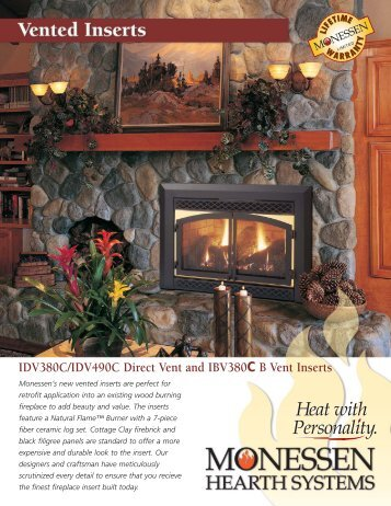Brochure - Main Street Fireplace