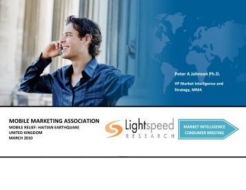 MMA/Lightspeed Monthly UK Consumer Briefing - Mobile Marketing ...