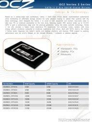 OCZ Vertex 2 Series - Storesys