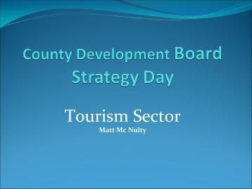 Tourism - Donegal County Development Board