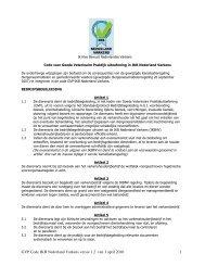 GVP code dierenarts - DGB energie