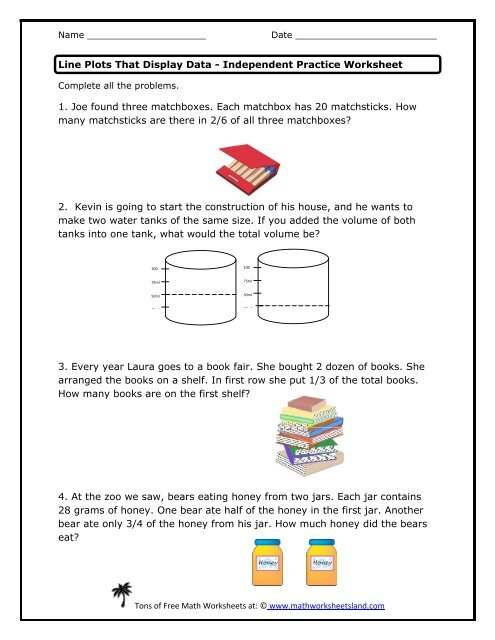 Practice Worksheet - Math Worksheets Land