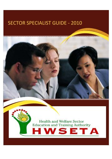SECTOR SPECIALIST GUIDE - 2010 - The Health and Welfare ...