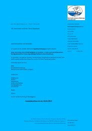Ausschreibung und Anmeldeformular - Ortsgruppe Bad Laasphe