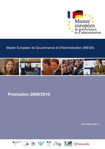 Promotion 2009/2010 - Portail de la coopération franco-allemande