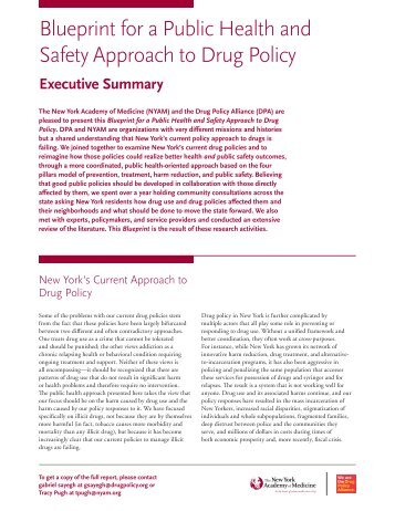 PDF View the executive summary. - Drug Policy Alliance