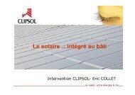 Solaire thermique - Clipsol - DERBI 2008