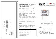 einfach klicken - Bayerische Sportjugend BSJ - Kreis Nürnberg
