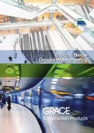 Effective Below Ground Waterproofing - W.R. Grace - Grace ...