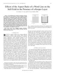 Effects of the aspect ratio of a word line on the self ... - IEEE Xplore