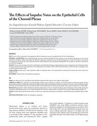 The Effects of Impulse noise on the Epithelial Cells of the Choroid ...