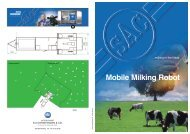 Mobile Milking Robot - Automatic Milking