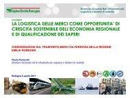 Considerazioni sul trasporto merci via ferrovia nella Regione