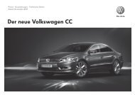 Der neue Volkswagen CC - Motorline.cc