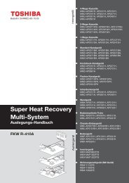 Super Heat Recovery Multi-System