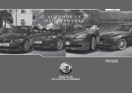 automobile meisterwerke automobile meisterwerke ... - BMW ALPINA