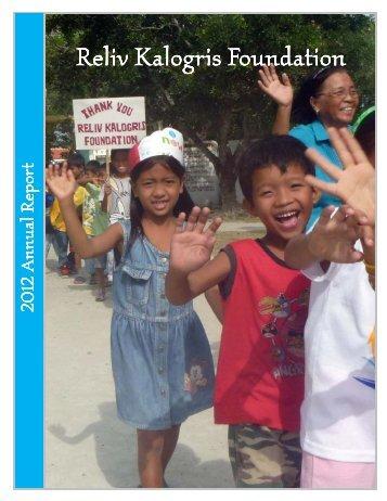 Annual Report 2012.pub - Reliv