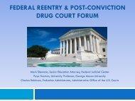 SB-25 - National Drug Court Institute