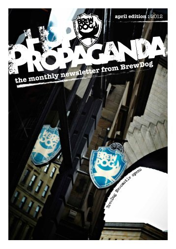 April Edition - BrewDog