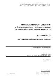 MARKTGEMEINDE STEINBRUNN - Eisenstädter Pforte