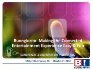 Presentation Used at the Excellence of made in italy Investor Event ...