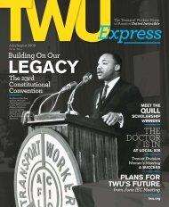 2009 August Express - TWU