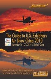 US International Pavilion Exhibitor Profiles - Kallman Worldwide Inc.