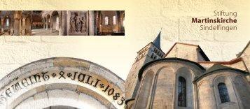 Stiftung Martinskirche Sindelfingen - fundraising evangelisch