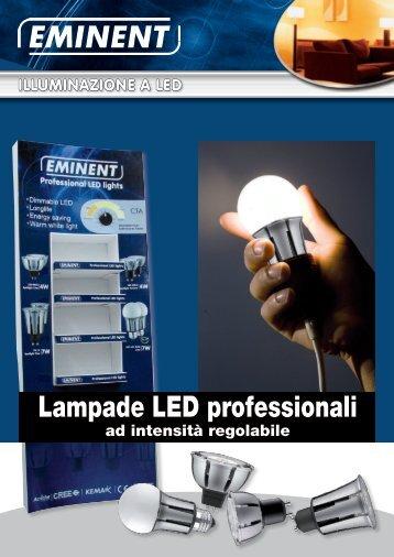 Lampade LED professionali - Eminent
