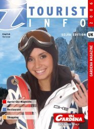 Scarica PDF Tourist Info 2006 - Snowevents