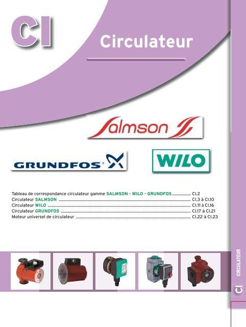 Salmson Circulateur axess180 salmson 4073526