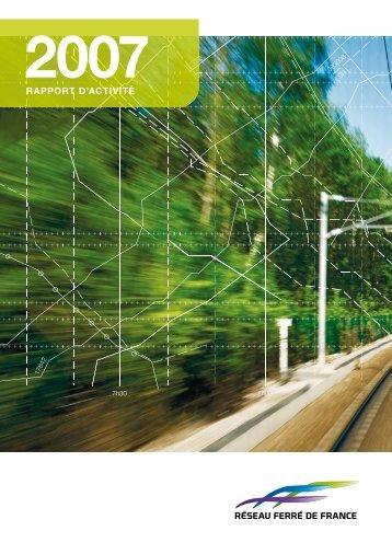 Rapport d'activité 2007 - RFF