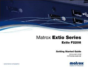 Extio Series - Matrox