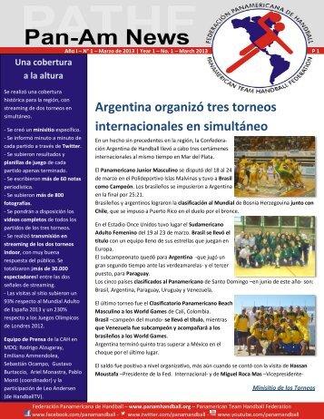 Versión en español - Federación Panamericana de Handball