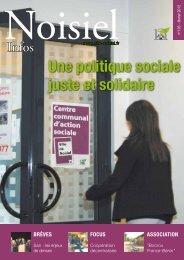 Une politique sociale juste et solidaire - Noisiel