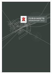Forsvarets årsrapport for 2012