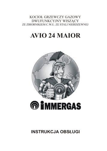 AVIO 24 MAIOR - Immergas