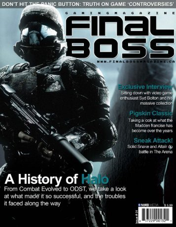 Final Boss Magazine.indd - Syd Bolton