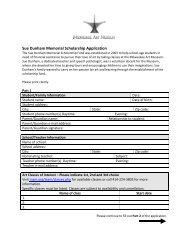 Sue Dunham Memorial Scholarship Application - Milwaukee Art ...