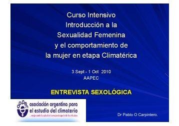 Dr Pablo O Carpintero. - IGBA
